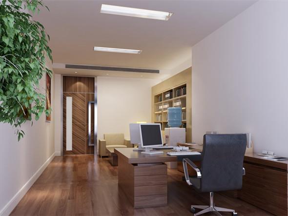 单间式办公室装修设计