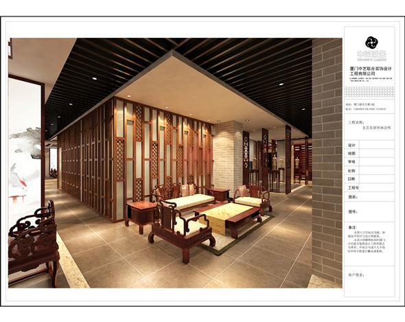 红木家具展厅装修工程