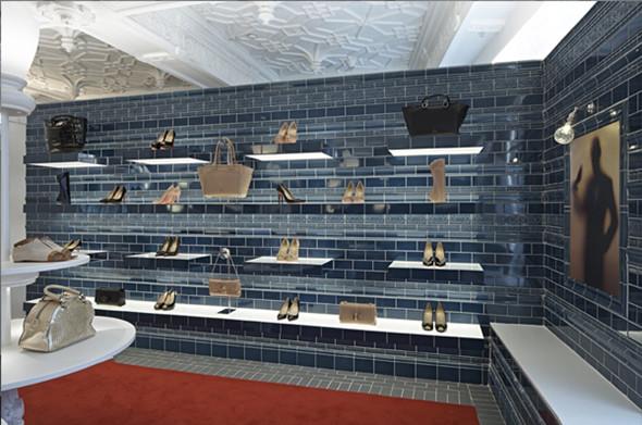 欧式风格的鞋店装修设计