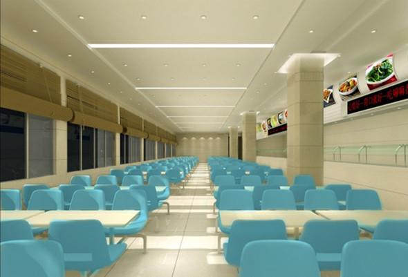工厂食堂装修设计
