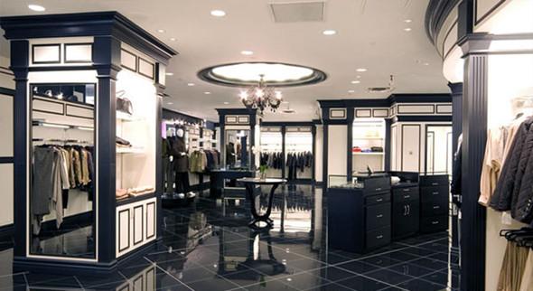 男装店面设计,欧式风格尽显独特性的文化潮流