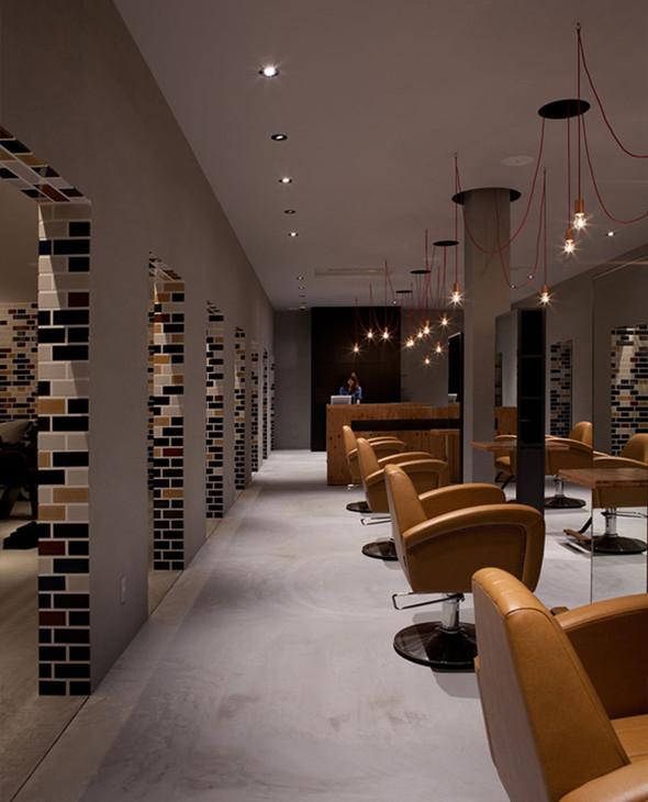 另类理发店装修设计,体验复古感觉