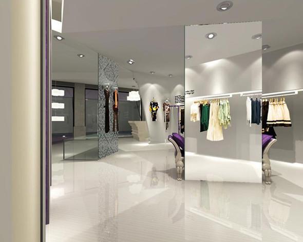 服饰店装修设计成欧式复古风格